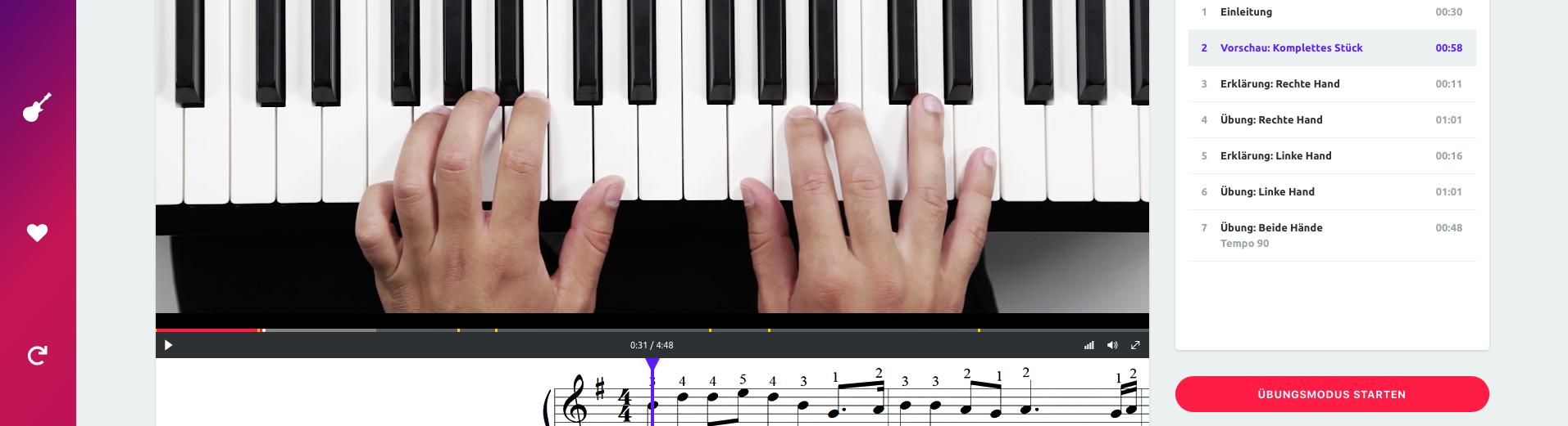 Music2me Erfahrungsbericht – Online Musikschule