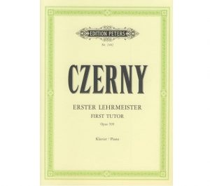 Notenbuch Czerny Erster Lehrmeister