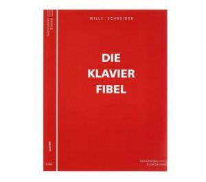 Notenbuch von Schneider Klavier Fibel